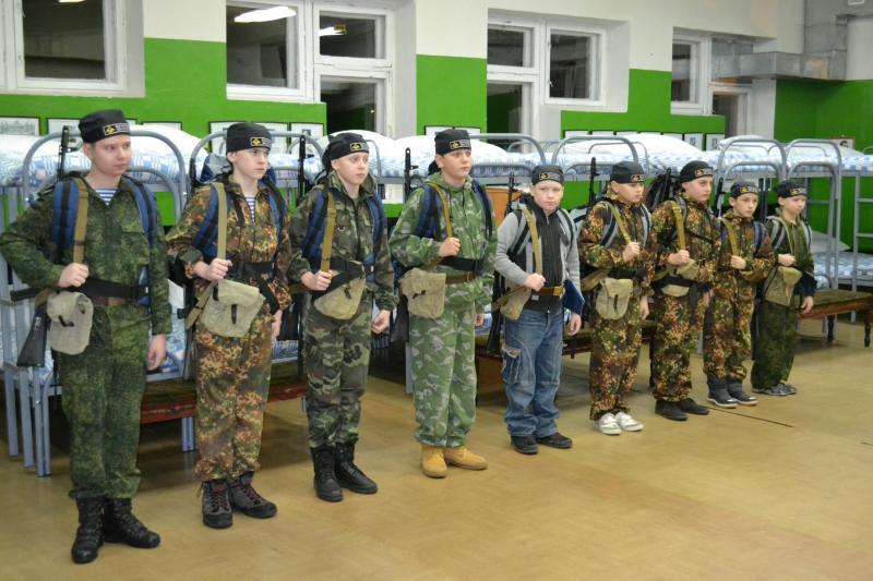 Казарма для проведения военно-учебных сборов